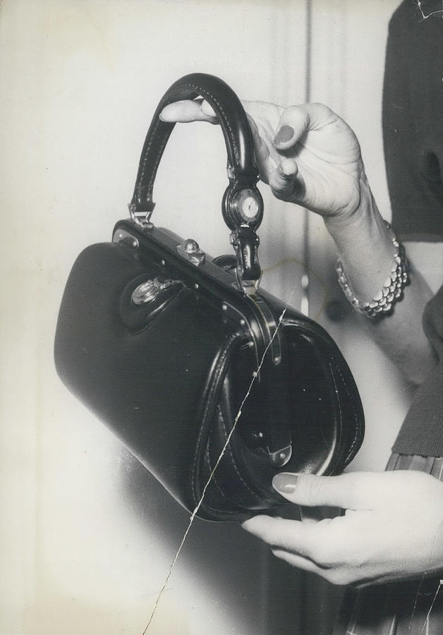 Retro Photograph - Novelty In Lady Bags by Retro Images Archive