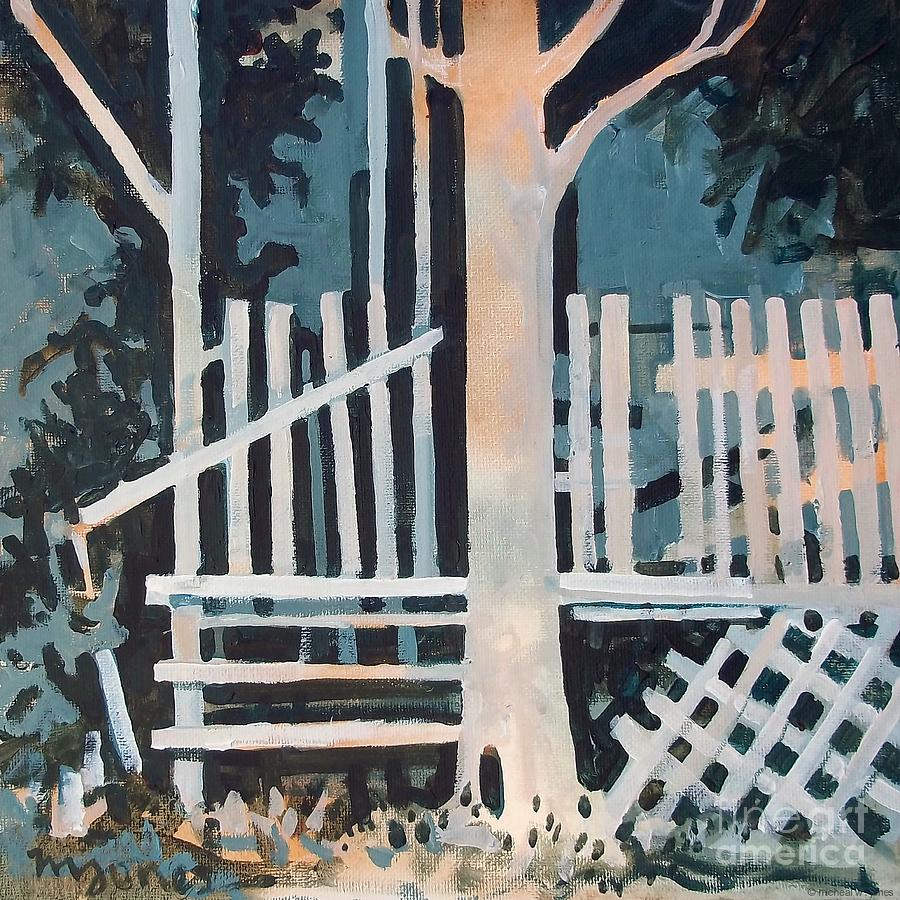 Shadows Painting - November Shadows by Micheal Jones