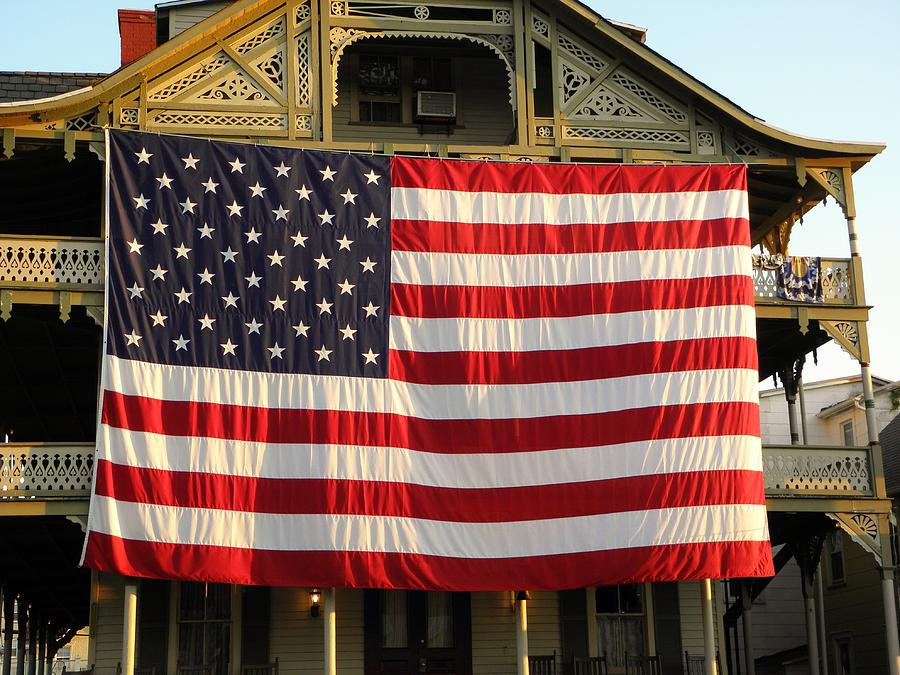 Usa Photograph - Now This Is A Flag by John Williams