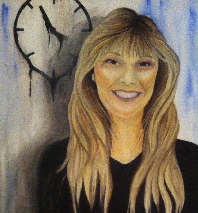 Portrait Painting - Now Time Stands Still by Misty Gifford