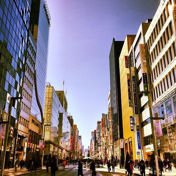 Ginza Photograph - 快晴の銀座 #tokyo #ginza by Tokyo Sanpopo