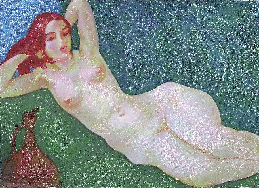 Nude Painting - Nu 13 by Leonid Petrushin
