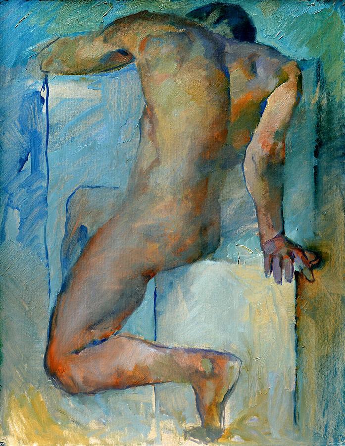 Nude Painting - Nu 2 by Valeriy Mavlo