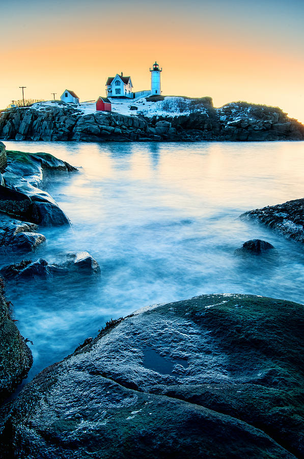 Cape Neddick Photograph - Nubble Light by Thomas Schoeller