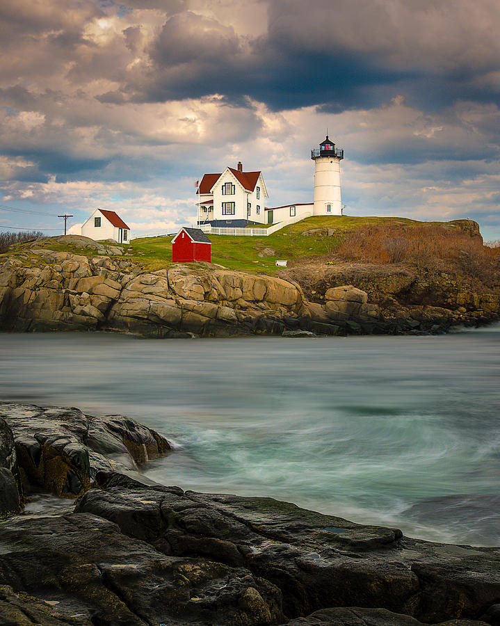 Nubble Lighthouse by Steve Zimic