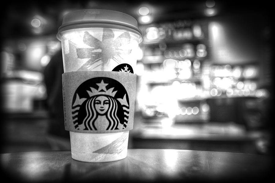 Starbucks Photograph - Nuclear Starbucks by Spencer McDonald