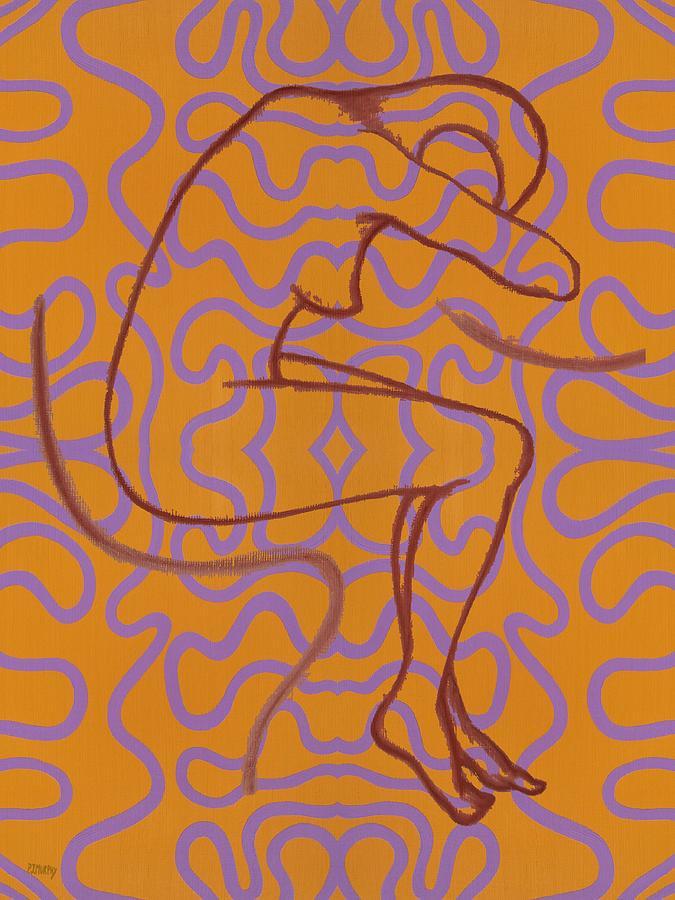 Nude Painting - Nude 13 by Patrick J Murphy