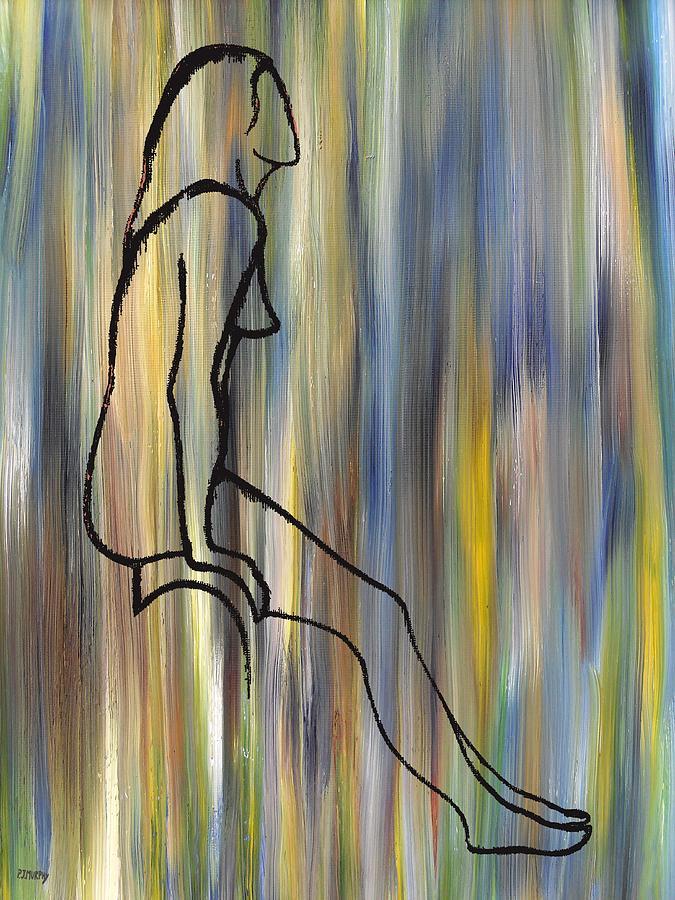 Nude Painting - Nude 14 by Patrick J Murphy