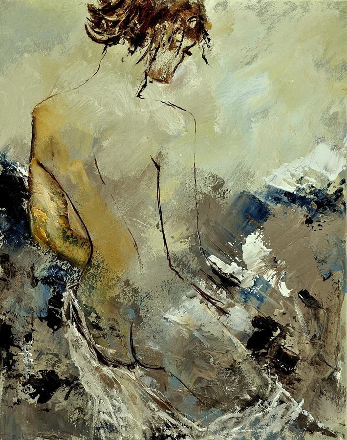 Nude Painting - Nude 45314061 by Pol Ledent