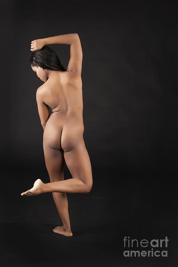 nude african woman dancing 1047 02 photograph by kendree