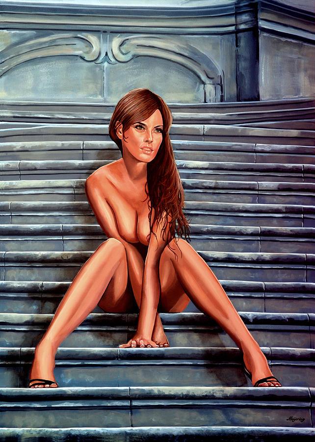 Nude Woman Painting - Nude City Beauty by Paul Meijering