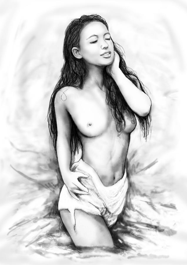 Nude girl art pictures