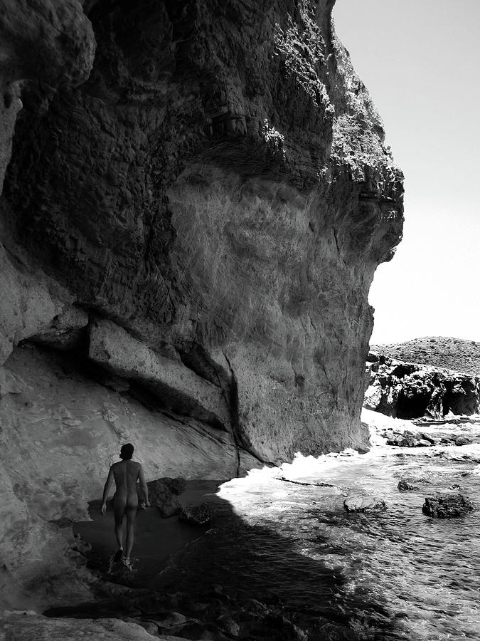 Nude Man And Rocks Photograph by Win-initiative