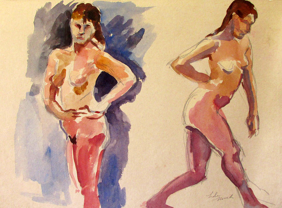 Nude Study by Linda Novick