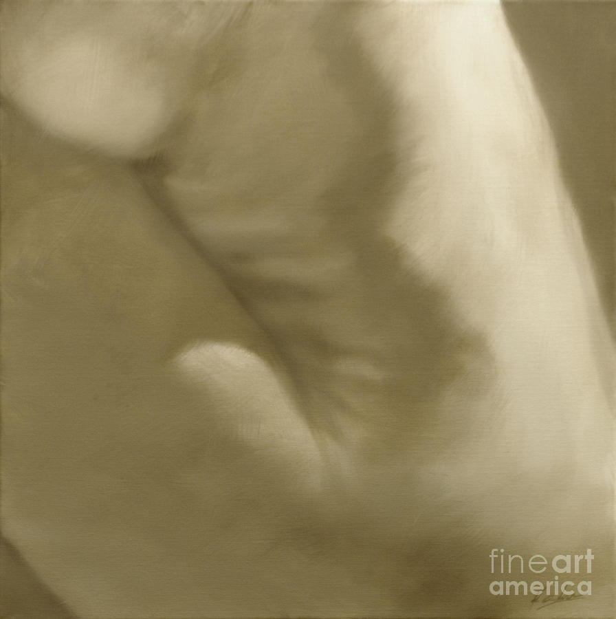 Nude Painting - Nude Study V by John Silver