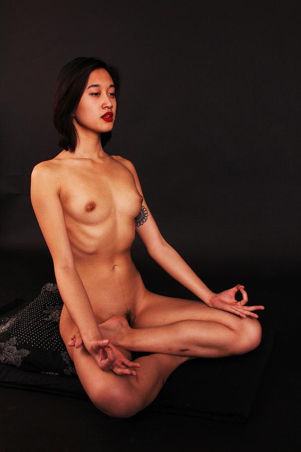 Hatha naked yoga
