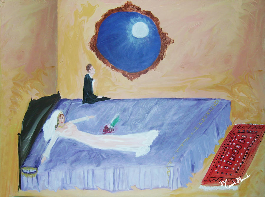 Impressionism Painting - Nuit De Noces by Mounir Mounir