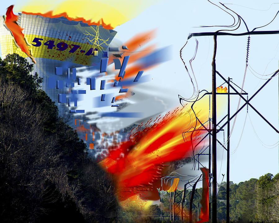 Nuclear Power Photograph - Nuked by Frank Savarese