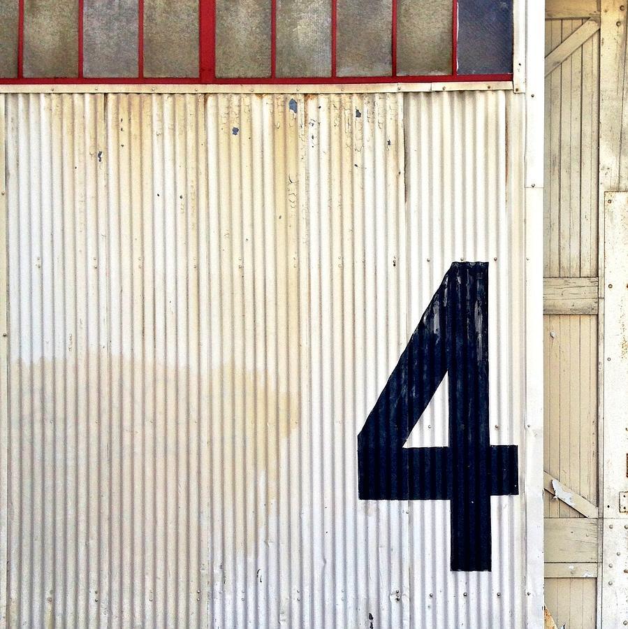 4 Photograph - Number 4 by Julie Gebhardt