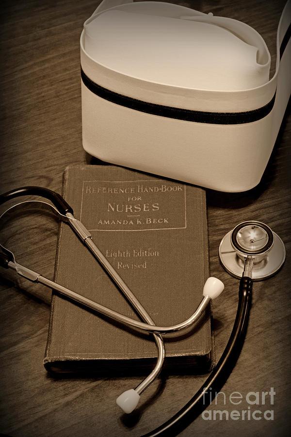 Paul Ward Photograph - Nurse - The Care Giver by Paul Ward