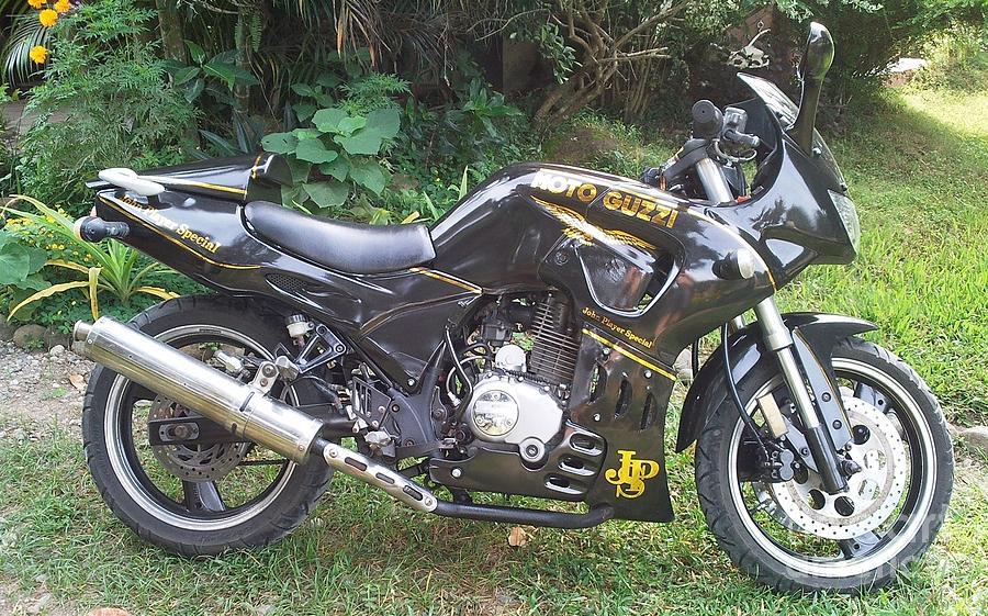 Motorcyle Painting - Nut And Bolt Restoration by Richard John Holden RA