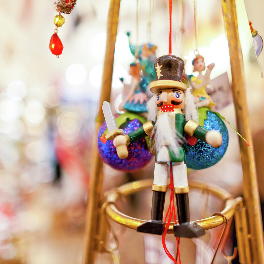 Nutcracker, Christmas Decoration Photograph by Panoramic Images