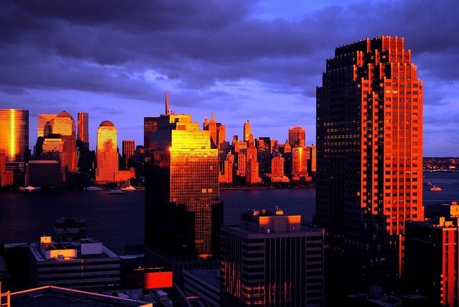 NY  NJ Storm Photograph by Ron Bartels