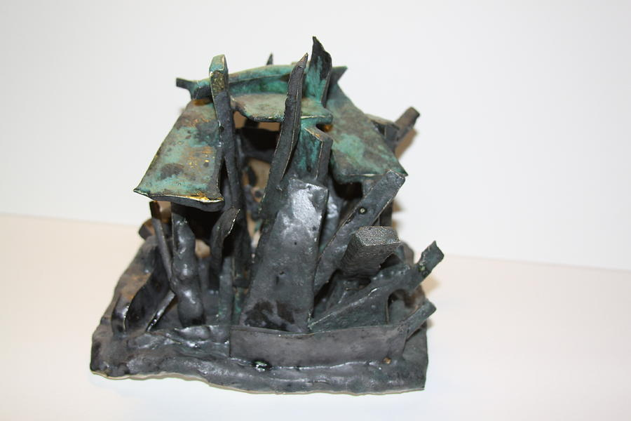 New York Sculpture - Ny Steel by Jean Macaluso