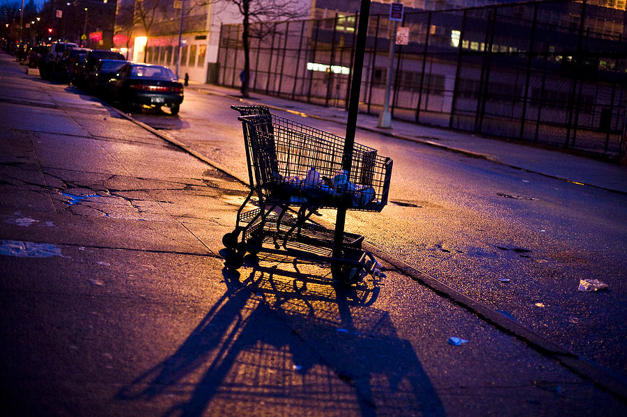 NYC Grocery Cart Photograph by Afton Almaraz