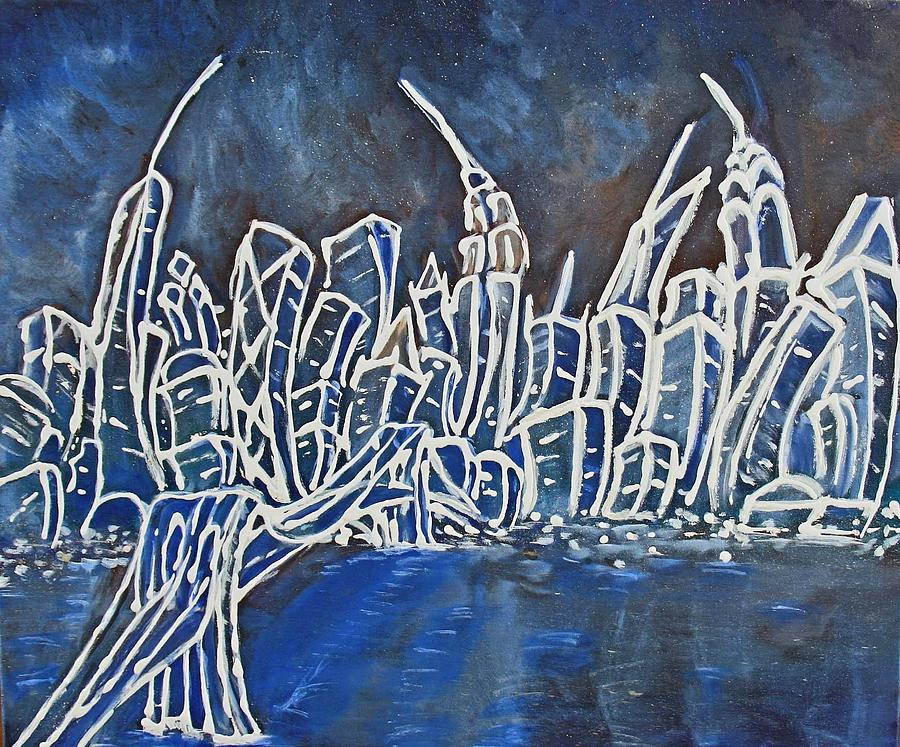 New York Painting - Nyc Jazz Part2 by Felix Concepcion