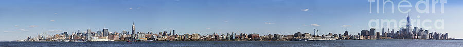 Nyc Panoramic Photograph