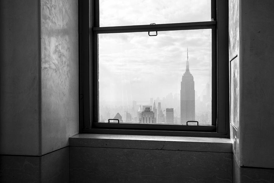Ny Photograph - Nyc Room With A View by Nina Papiorek
