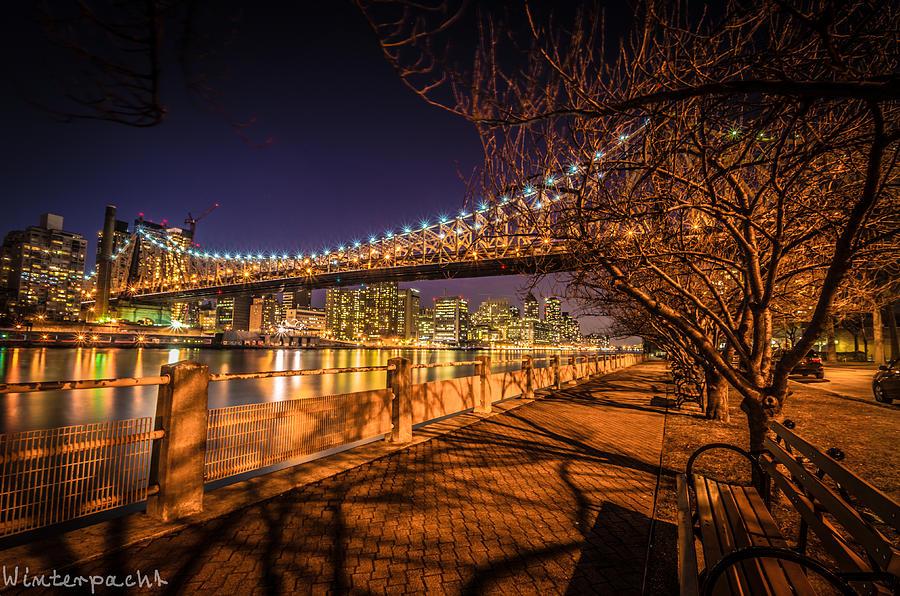 New York City Photograph - Nyc Skyline by Raf Winterpacht