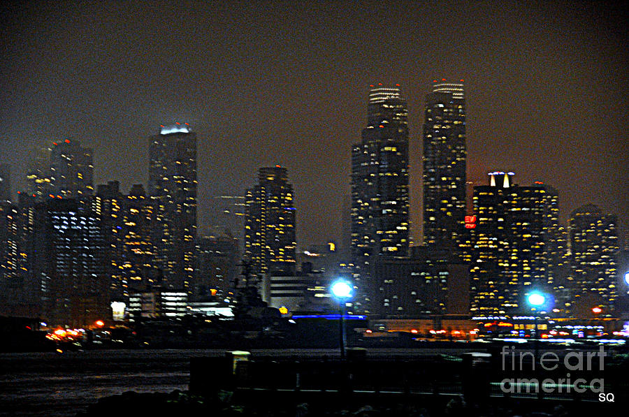 Nyc Photograph - Nyc Skyline by Sue Rosen