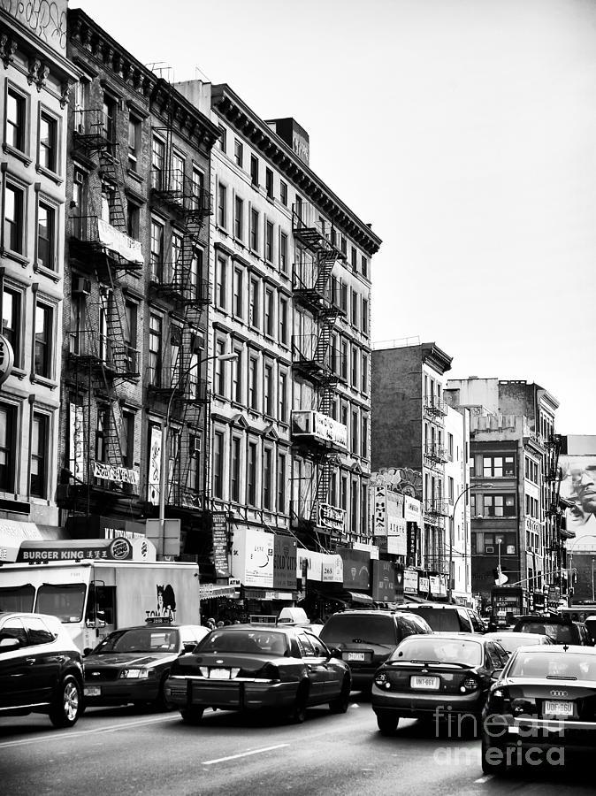 Nyc Traffic Photograph - Nyc Traffic by John Rizzuto