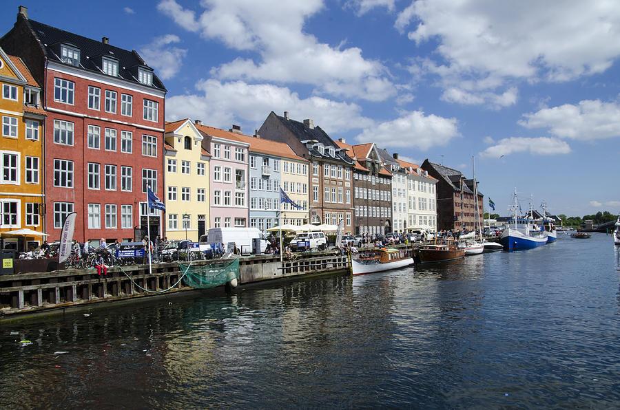 Ships Photograph - Nyhavn - Copenhagen Denmark by Jon Berghoff