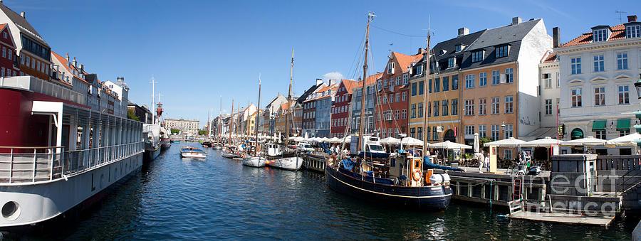 Nyhavn Panorama Photograph