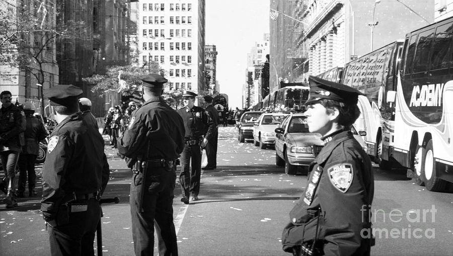 Nypd Photograph - Nypd 1990s by John Rizzuto