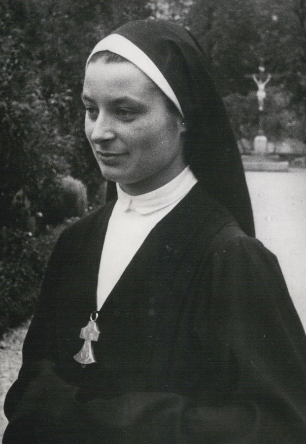 Retro Photograph - O More White Bonnets For French Nuns by Retro Images Archive