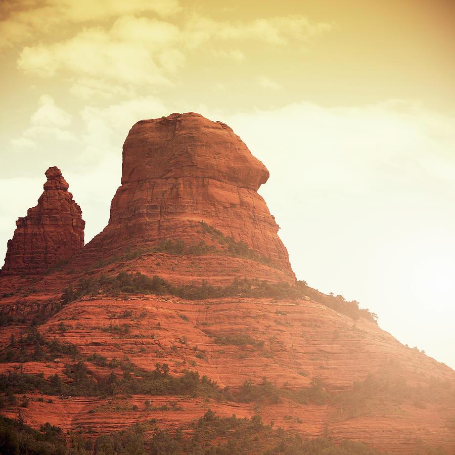 Oak Creek And Red Rock - Arizona Photograph by Franckreporter