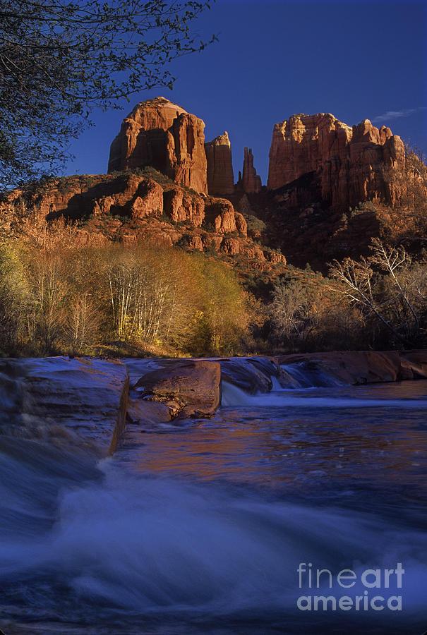 North America Photograph - Oak Creek Crossing Sedona Arizona by Dave Welling