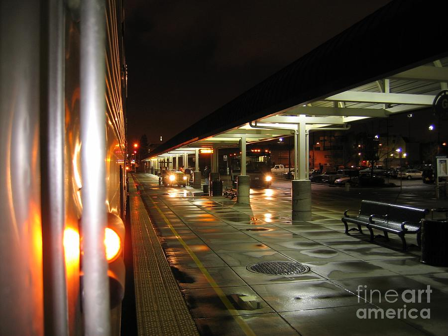 Oakland Amtrak Station Photograph