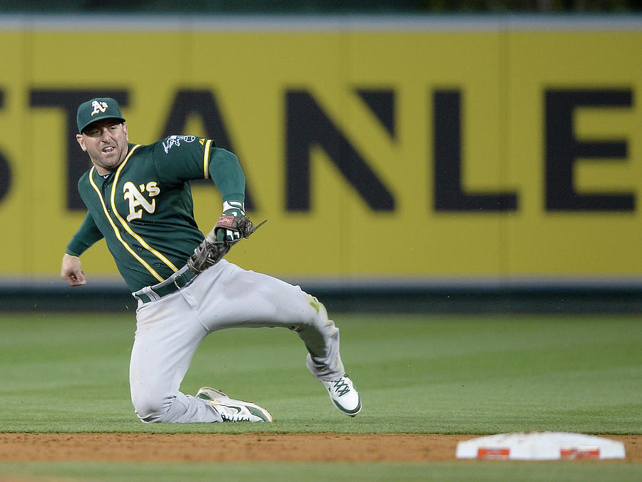 Oakland Athletics V Los Angeles Angels Photograph by Harry How