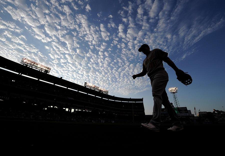 Oakland Athletics V Los Angeles Angels Photograph by Kevork Djansezian
