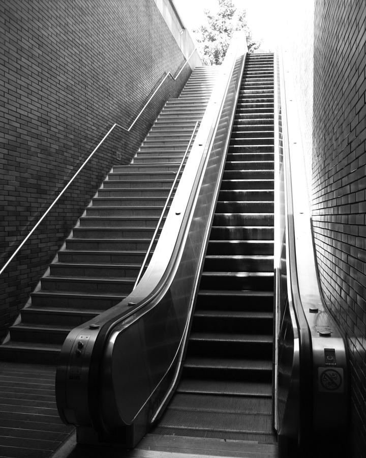 Stairs Photograph - Oakland Station by Todd Hartzo