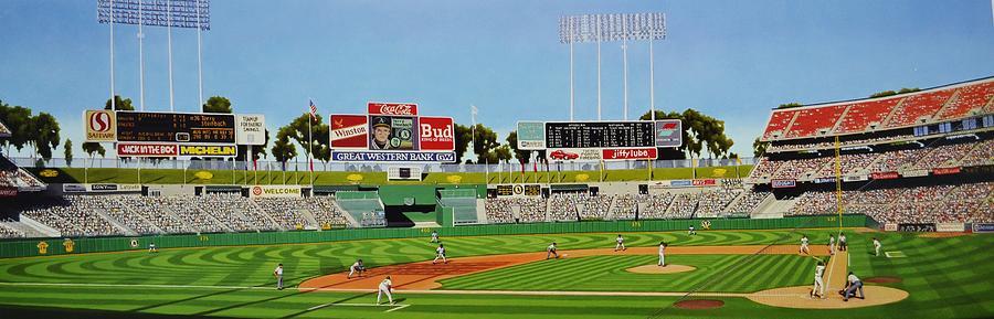 Oakland Painting - Oakland by Thomas  Kolendra