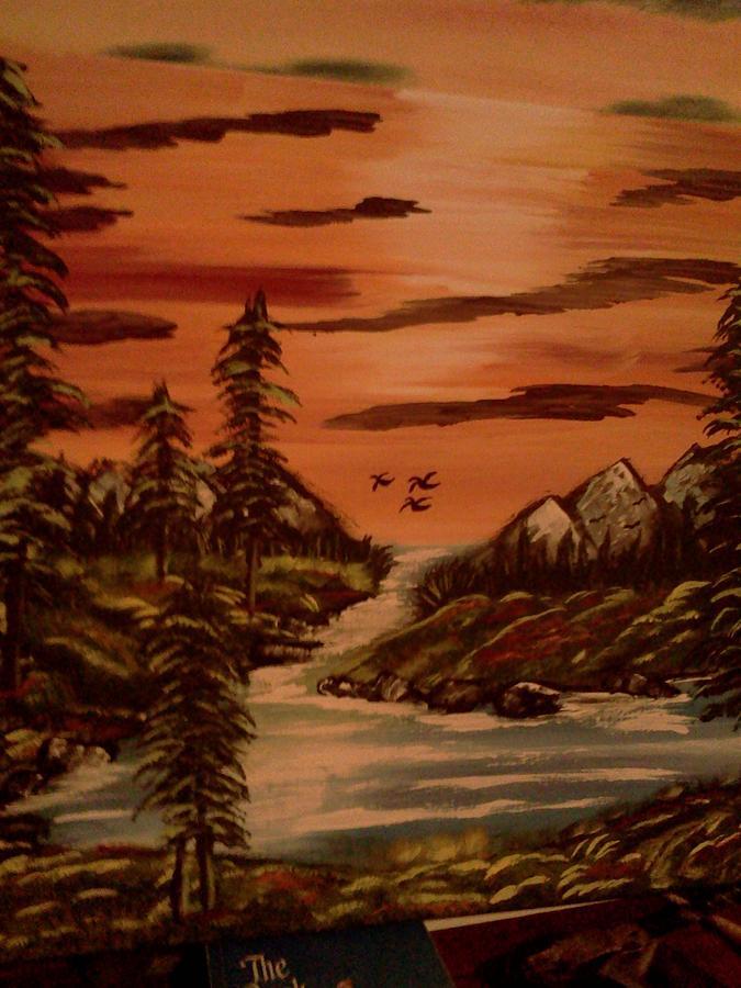 Oasis Painting by Renee McKnight