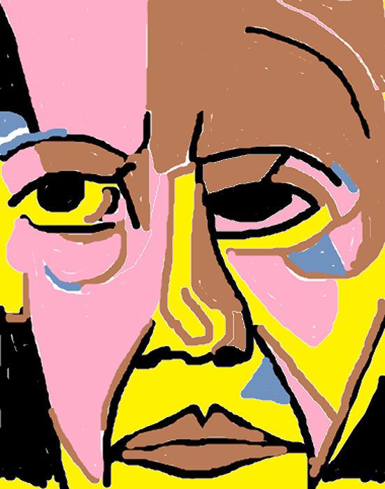 Obama Portrait Painting - Obama by Anita Dale Livaditis