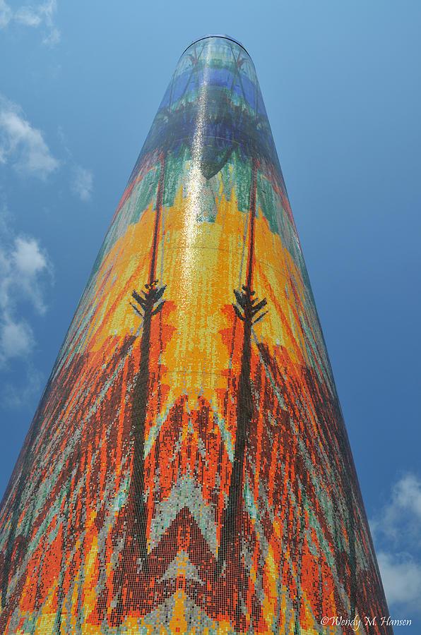 Obelisk Photograph - Obelisk Reaching To The Sky by Wendy Hansen-Penman