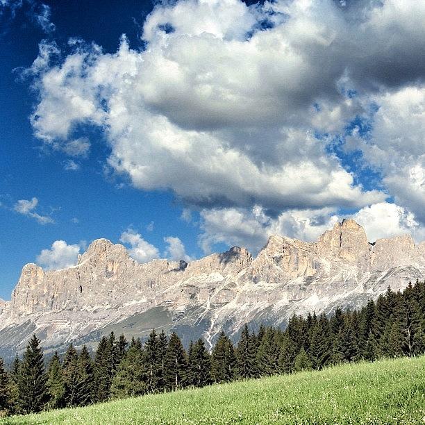 Outdoor Photograph - Obereggen - Alto Adige by Luisa Azzolini